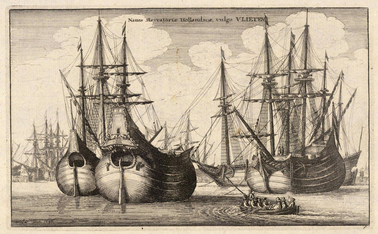 De Fluit werd gebruikt om graan te vervoeren naar de landen rond de Oostzee