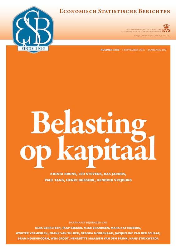 ESB 4753: Belasting op kapitaal