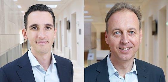Paul Verstraten en Peter Zwaneveld, respectievelijk wetenschappelijk medewerker en programmaleider bij het CPB
