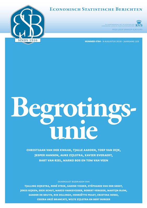 ESB 4764: Begrotingsunie