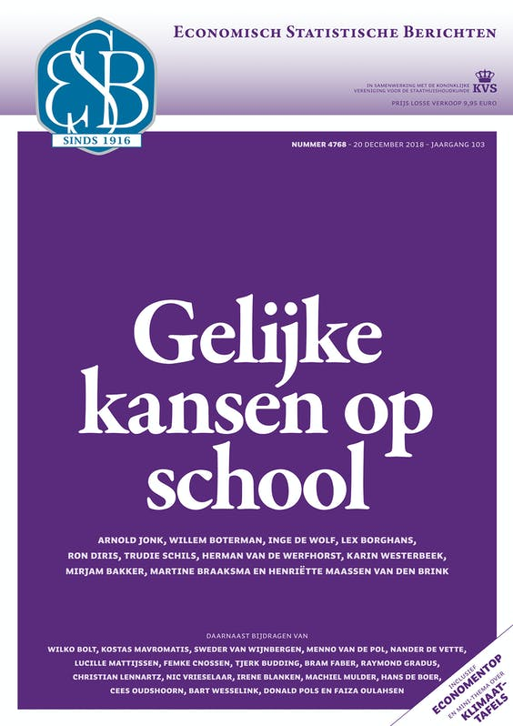 ESB 4768: Gelijke kansen op school